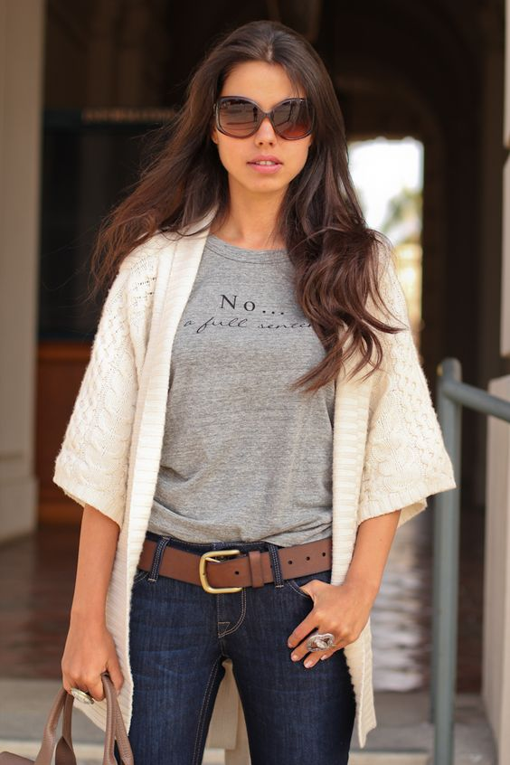 VivaLuxury - Fashion Blog by Annabelle Fleur: NO... IS A FULL SENTENCE | StyleMint T Shirt Dressing Day 2