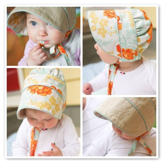 super adorable peekaboo bonnet
