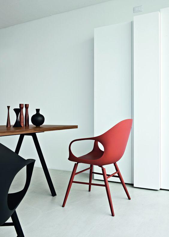 Elephant chair by Neuland Paster & Geldmacher - Kristalia #redchair #livingroom #indoordesign