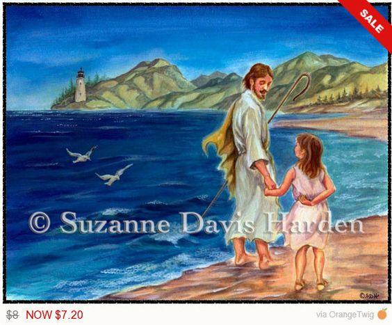 SPRING SALE The Good Shepherd Set of 5 Blank by WingsPublications