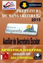 Apostila Digital Concurso Prefeitura de Mangaratiba RJ Auxiliar de Secretaria Escolar 2015