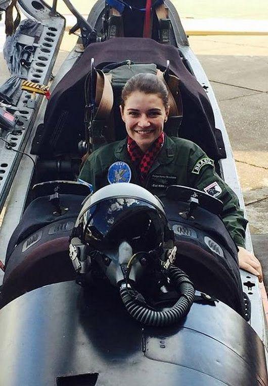 Elisa Estrbi Google Female Pilot Female Fighter Fighter Pilot