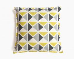 Coussins carrés originaux et design en lin et coton - Mademoiselle Dimanche