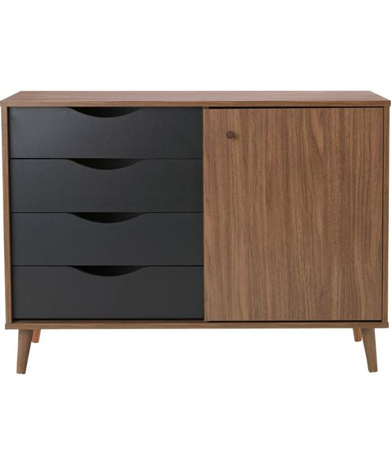 walnut sideboard argos 1