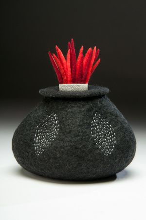 Flame Vessel by Shelley Jones. LOVE her work! First class!