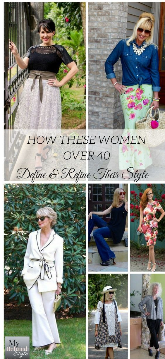 How these women over 40 define and refine their own personal style, my refined…