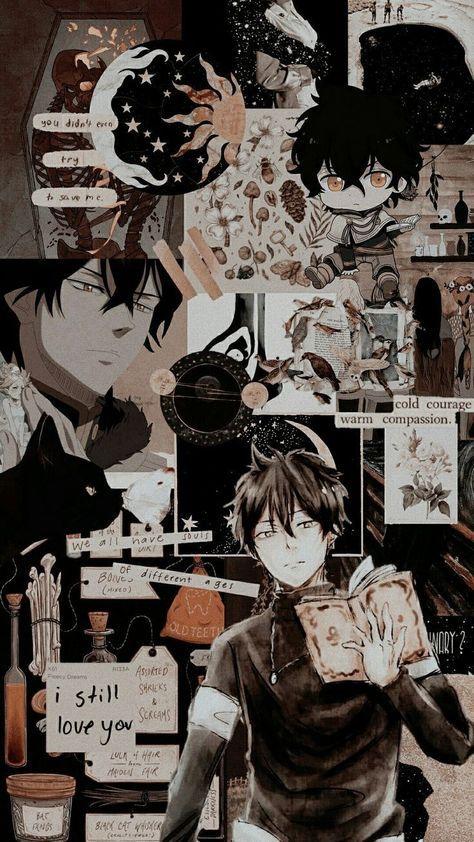 45 Ideas Anime Aesthetic Wallpaper Black Anime Wallpaper Aesthetic Anime Black Clover Anime