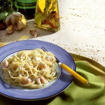 Shrimp And Spaghetti In Cream Sauce Fred Meyer Recipe In 2020 Cream Sauce Recipes Recipes Food
