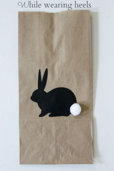 While Wearing Heels: Bunny Favor Bags