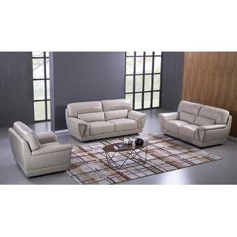 Miraculous Italian Configurable 3 Piece Living Room Set In 2019 Short Links Chair Design For Home Short Linksinfo
