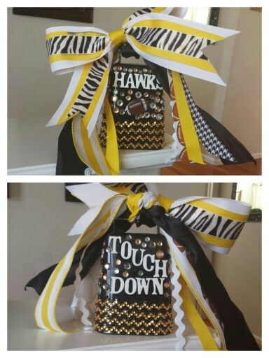 Our football team's cowbell, I love how it turned out. #football, #footballmom, #sports,#cowbell, #touchdown