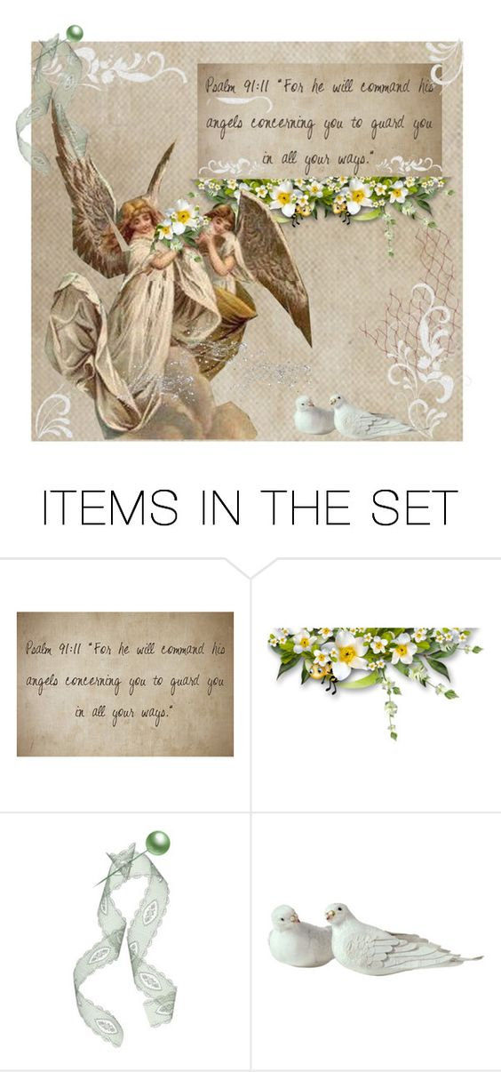 """Angels to Guard You"" by skpg ❤ liked on Polyvore featuring art"