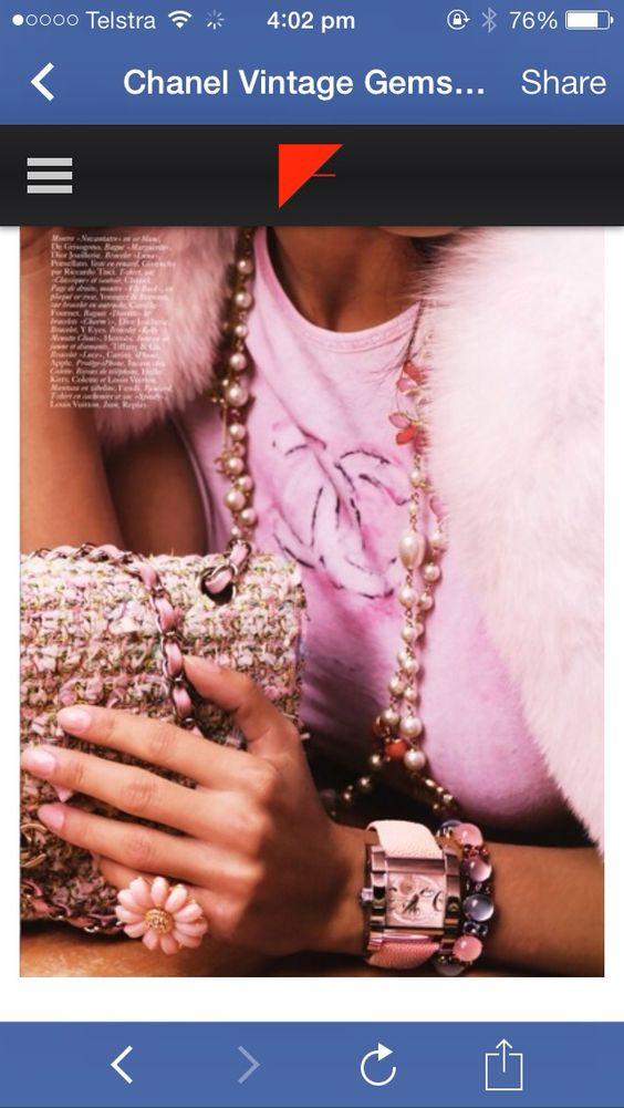 Vintage Chanel!