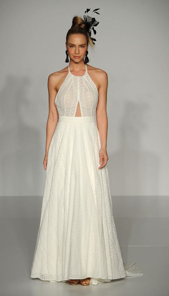 Cutout wedding dress with halter neck from Sottero Midgley Fall 2016
