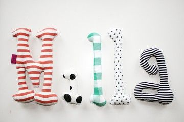 fluffy letters