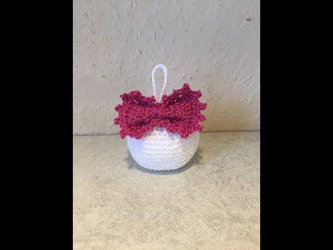 Tuto boule de noël au crochet #boule #crochet https://tutotube.fr