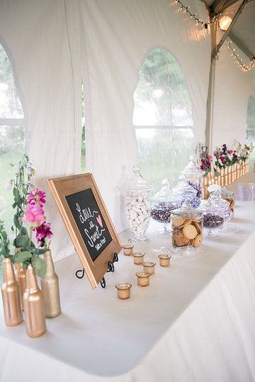 Photo by Amanda Adams Photography. Beautiful table set up at a wedding at Greenwell State Park. DIY with us! www.greenwellfoundation.org.