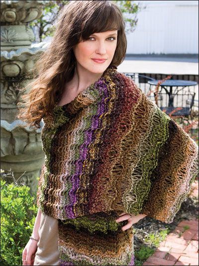Crochet Knit Stitch Waldorf : ponchos knits simple shawl knit sweaters knitting wrap pattern black ...