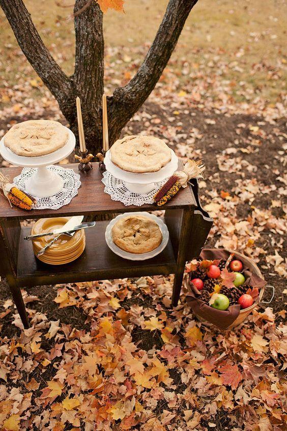 Autumn wedding treat ideas | i take you