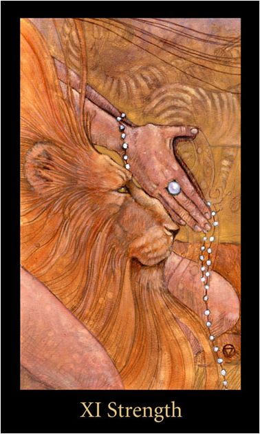 Exquisite and rich images in this deck  Mary-el Tarot - by Mary White
