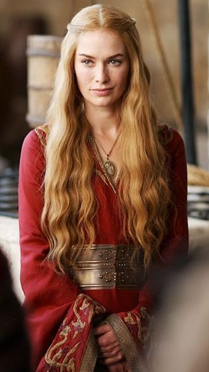 Cersei Lannister from Game of Thrones.