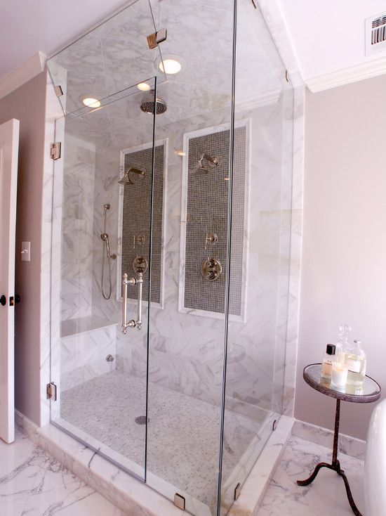 Different types double shower and nice on pinterest - Different showers ...