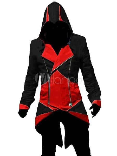 Black Red Assassins Creed Game Cosplay Costumes - Milanoo.com