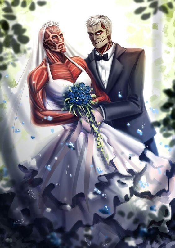 進撃の巨人の巨人の結婚!?