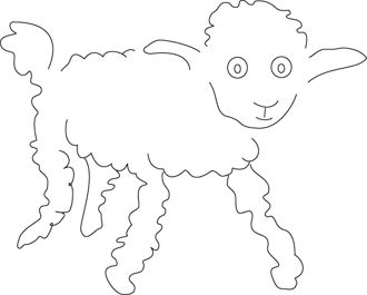 Coloriage le Petit Prince: le mouton                                                                                                                                                                                 Plus: