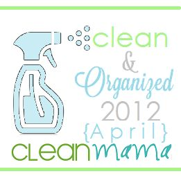 April Cleaning Schedule