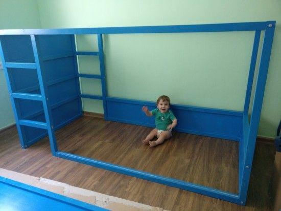 Kids Loft Kura Bed With Nordli Stairs Idees De Lit Kura Lit