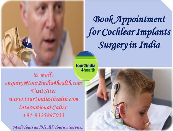 Book Appointment for Cochlear Implants Surgery in India with Tour2India4Health Group