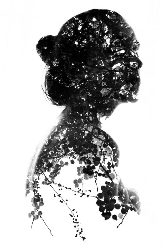 Aneta Ivanova's Beautiful Double Exposure Portraits | via My Modern Metropolis: