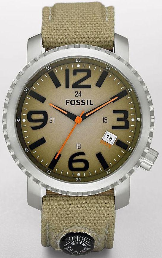 Fossil Men's JR1139 Trend Brown Dial Watch, Fossil Watch Men