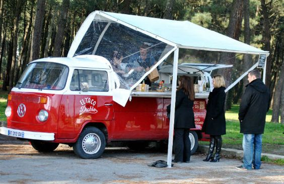 Food Truck à Bordeaux : El Taco del Diablo méxicain