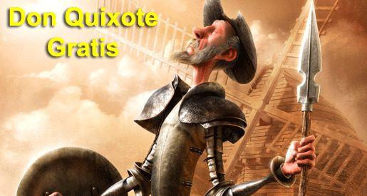 Don QUIJOTE de La Mancha - original en Espáñol - libro interactivo!