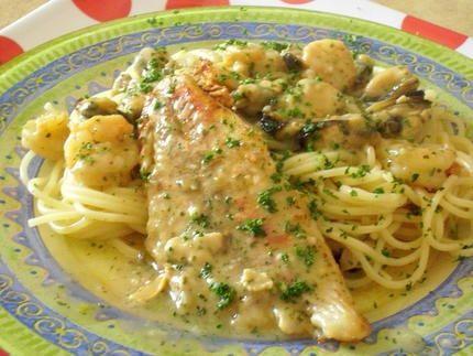 recette filets de poisson à la normande