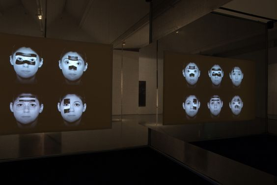 Jane and Louise Wilson, Installation view: Dundee Contemporary Arts, Scotland…