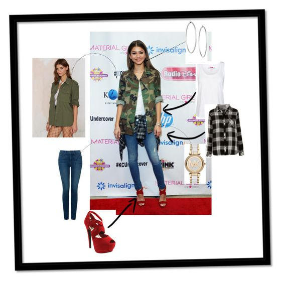 """""""Get The Look"""" by fashionqueens1 ❤ liked on Polyvore featuring adidas, NYDJ, Rails, For Sienna, Red Circle, Michael Kors and Jennifer Fisher"""
