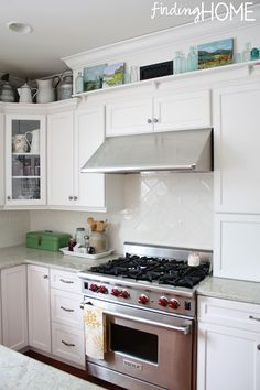 Ideas For Above Under Cabinet Vent Hood
