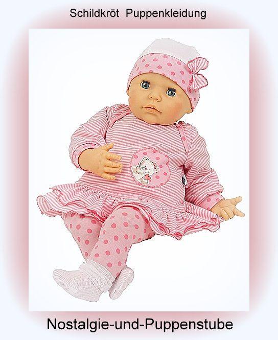 Schildkröt Puppenkleidung von Baby Julchen, Kleid mit... nur 54.90 EUR