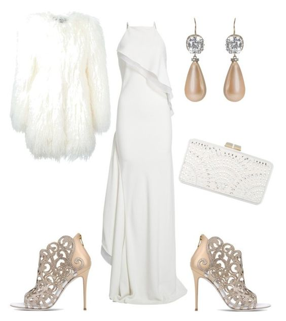 """""""Untitled #74"""" by magscook ❤ liked on Polyvore featuring Jason Wu, Philipp Plein, René Caovilla, Press and BCBGMAXAZRIA"""