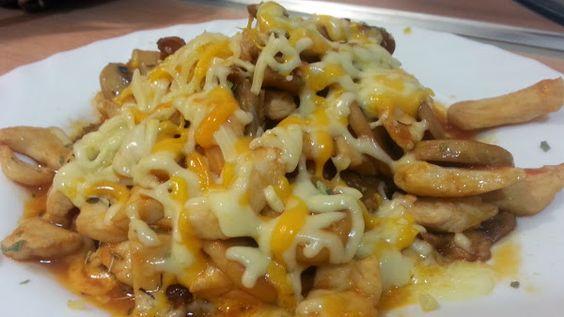 Filetes de pollo con champiñones, tomate y queso fundido   Cocinar en casa es facilisimo.com