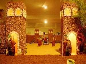 Castillo de Herodes. Belén de la Familia Bleda
