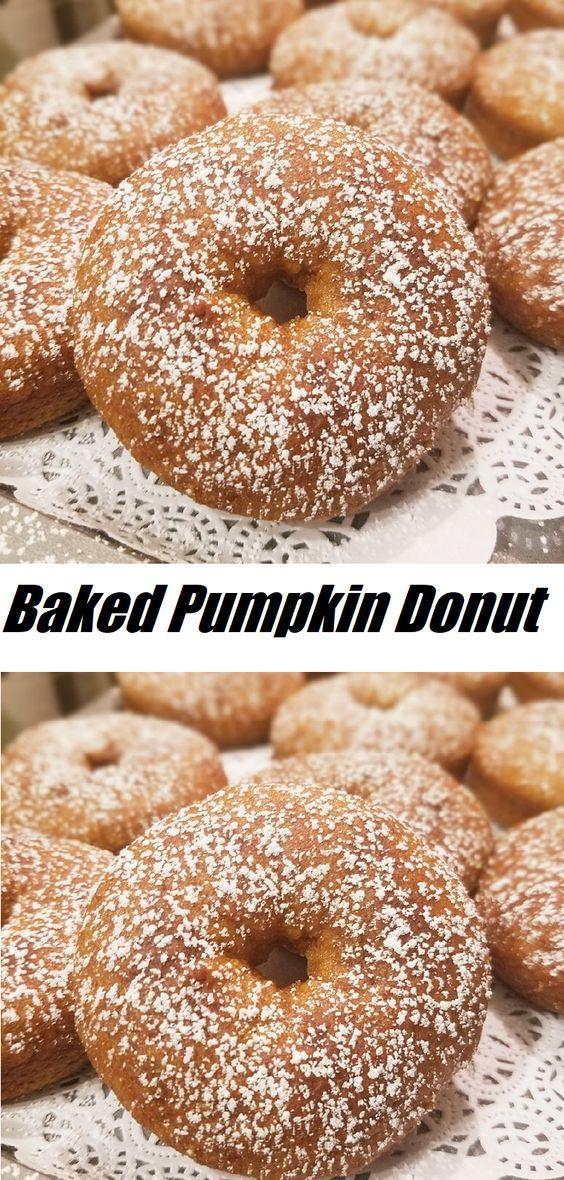 #Baked #Pumpkin #Donut #DESSERT #gluten #free #flour!