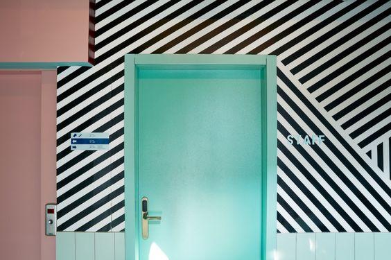 令人難以抗拒的柔雅藍色調:冰島的夢幻旅店 ODDSSON Hostel   EVERYDAY OBJECT