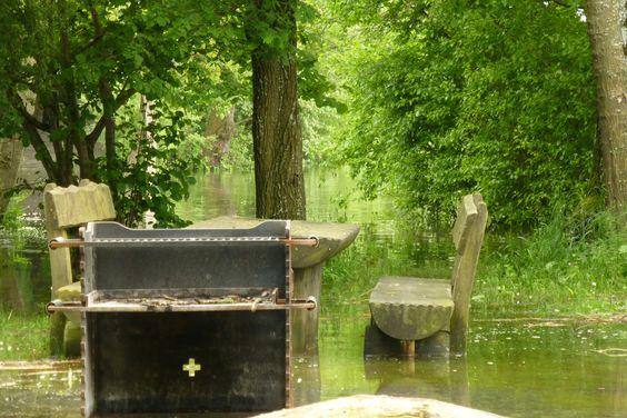 Hochwasser! ... und die schönen Seiten.