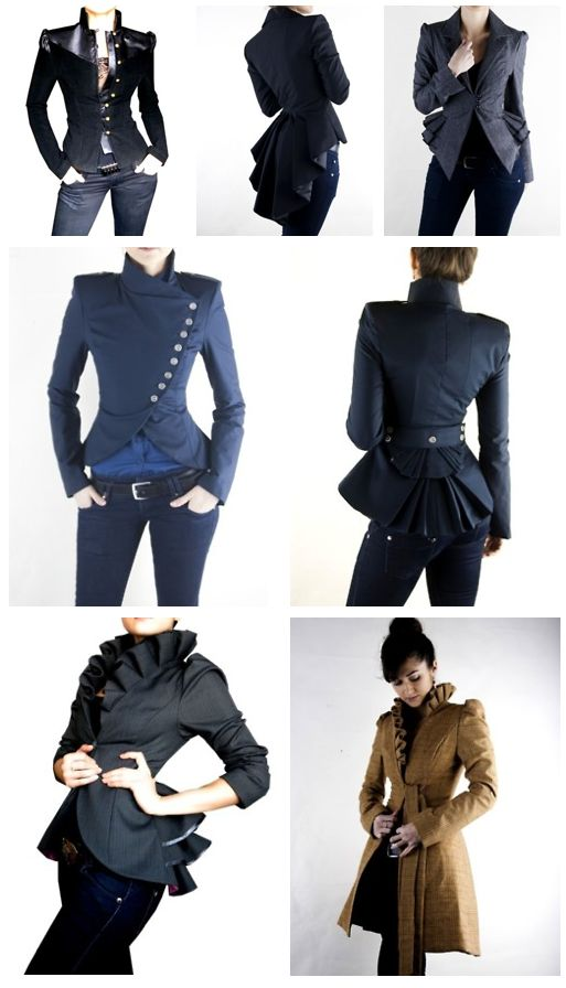 steampunk,clothing,style,jackets,