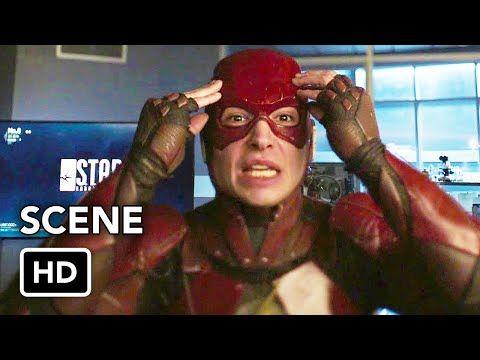 Dctv Crisis On Infinite Earths Crossover The Flash Ezra Miller Cameo Hd Youtube Ezra Miller The Flash Infinite Earths