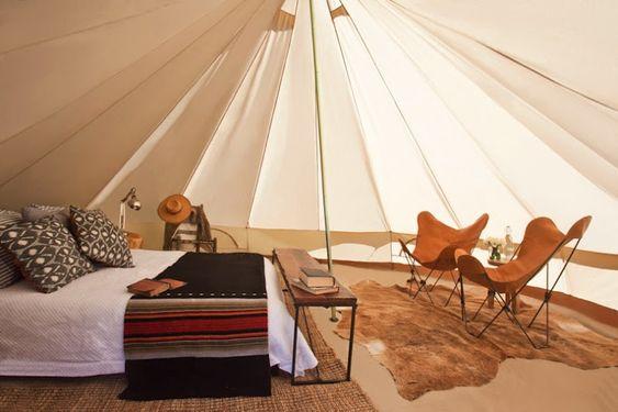 Tent cotton.